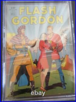 Four Color Flash Gordon #84 1st Ed Cgc Graded 4.0 Comic - Sept 1945