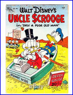 Four Color No. 386 1952 1st Issue Uncle Scrooge Barks Art