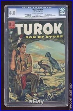 Four Color (Series 2) #596 1954 CGC 4.0 1346323015