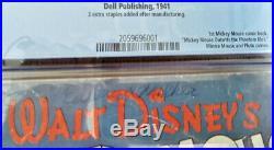 Four Color Walt Disney Comic #16 1941 The Phantom Blot Mickey Mouse CGC 2.0
