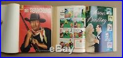 Four color comics 13 bound volume lot. 155 issues from 1950s