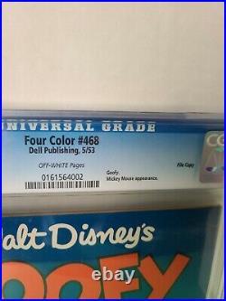 GOOFY #1 CGC 9.4 Four Color #468 File Copy