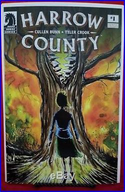 Harrow County #1 4CG Four Color Grails Variant Near Mint
