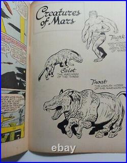 JOHN CARTER OF MARS (1952 Series) (#1 FOUR COLOR) (DELL) #1 FC #375 HIGH GRADE