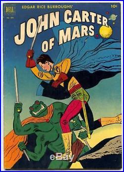 JOHN CARTER OF MARS- Four Color Comics #375 1st Dejah Thoris FN+