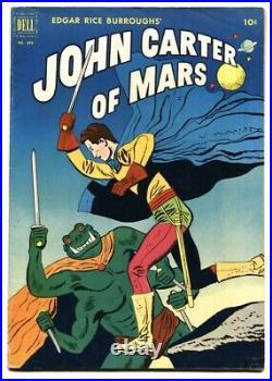 JOHN CARTER OF MARS- Four Color Comics #375 1st Dejah Thoris FN/VF