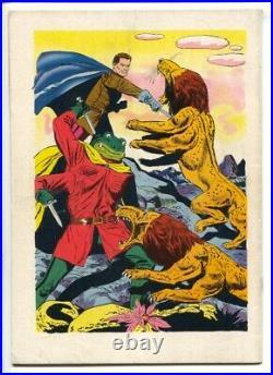 John Carter of Mars-Four Color Comics #488 1953 Dell-ERB-Jesse Marsh art-Pain