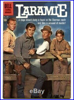 Laramie, Four Color Comics #1125 1960-Dell-TV photo cover-Robert Fuller-nm