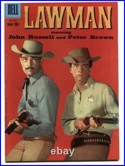 Lawman- Four Color Comics #970 1958- Western Photo cover VF+