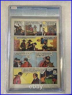 Lone Ranger Four Color #136 Dell 1947 CGC 8.0 Very Fine Golden Age Rare Book