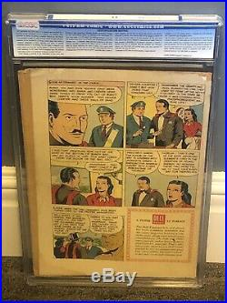 Mandrake the Magician Four Color Comics 752 CGC 2.5 1956 Painted Cover Dell