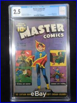 Master Comics #42 CGC 2.5 Hitler Appearance Spanking Cover