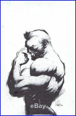 Old Man Logan #1 Four Color Grails Variant Original Cover Art