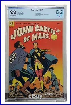 Paul S. Newman / Four Color #437 Edgar Rice Burroughs' John Carter of Mars 1st