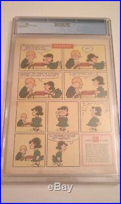 Peanuts #1 Cgc 4.5 Comic Four Color 878 Dell 1958 Rare