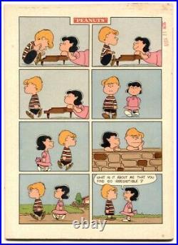 Peanuts- Four Color Comics #1015 1959 FN