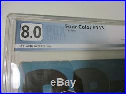 Popeye four color 113 8.0 PGX Grade Dell Classic Cartoon Funny TV Tie In 1946