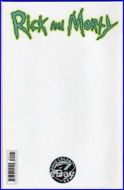 RICK AND MORTY #1 FOUR COLOR GRAILS Variant 4CG 1st Print ONI Press HTF Rare NM