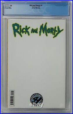 Rick And Morty #1 CGC 9.8 Oni Press 2015. Four Color Grails Edition. HTF