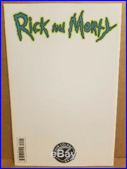 Rick And Morty #1 Four Color Grails Andrea Tamme Variant 2015 Oni Press