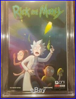 Rick and Morty #1,1st Print, CGC 9.8 (Oni Press 2015) Four Color Grails Variant