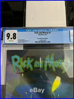 Rick and Morty #1 Oni Press Four Color Grails Variant CGC 9.8 4CG
