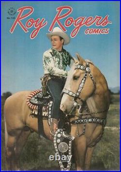 Roy Rogers Four Color Comic #153, Very Nice, tiny corner nicks
