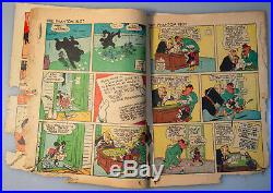 SCARCE FOUR COLOR COMICS # 16 AKA MICKEY MOUSE # 1 Complete