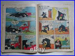 Scarce Four Color Comics # 16 Aka Mickey Mouse # 1 Missing Front Cover