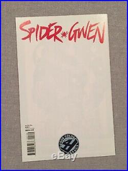 Spider-Gwen #1 (2015) Four Color Grails Variant Marvel Comics