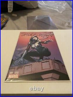 Spider Gwen 1 Four Color Variant Grails Gradiant Dale Keown MARVEL