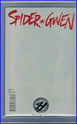 Spider Gwen # 1 Marvel CGC 9.8 SS Dale Keown Four Color Grail Variant 4CG HTF