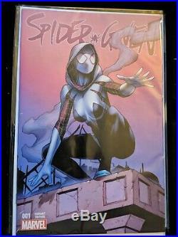 Spider-gwen 2015 #1 Four Color Grail Variant Marvel Comic Book. NM+/M Condition