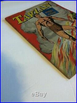 TARZAN #161 FOUR COLOR 2ND DELL TARZAN COMIC 8.0VF High Grade 1947 Golden Age