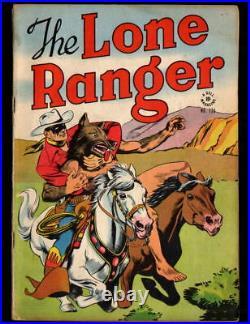 THE LONE RANGER Dell Four Color comic book #136 (1947) VF