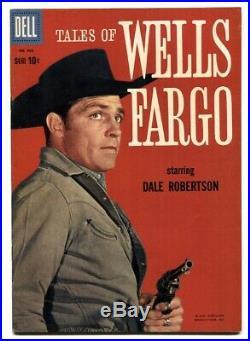 Tales of Wells Fargo-Four Color Comics #968 1959 VF