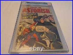 Tales to Astonish # 35, Marvel 1962, Origin & 2nd app. Ant-Man, Key SA, CGC 7.0
