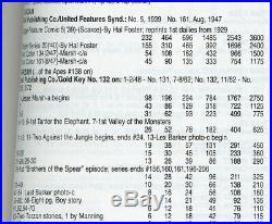 Tarzan FOUR COLOR (Dell) #161 1947 Overstreet FINE+ (6.5) Edgar Rice Burroughs