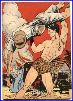 Tarzan Fires of Tohr-Four Color Comics-#161 1947- VG