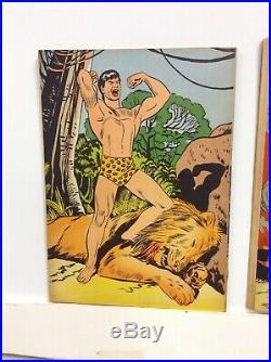 Tarzan Four Color 134 (f-) & 161 (f-), 1947 Dell Comics, Early Tarzan