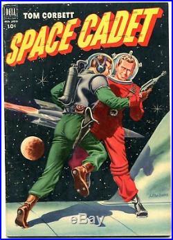 Tom Corbett Space Cadet-Four Color Comics #400 1952- Al McWilliams F/VF
