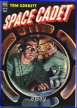 Tom Corbett Space Cadet-Four Color Comics #421 1952-Dell-TV Series-FN/VF
