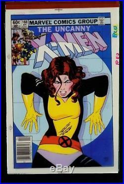 Uncanny X-Men 168 Four Color Cover Separation