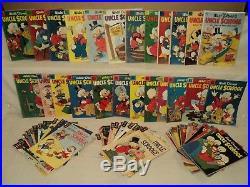 Uncle Scrooge Four Color 386, 456, 495 + 4-71 SET Dell Gold Key Comics (s 9545)