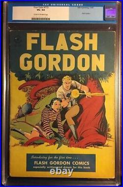 VINTAGE CGC VG- 3.5 Four Color #173 Flash Gordon (1942 1962 Dell Series 2)