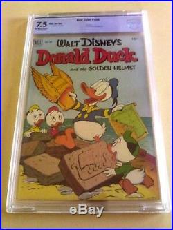 WOW WALT DISNEY DONALD DUCK FOUR COLOR COMIC #408 CBCS 7.5 VF-1952 not cgc