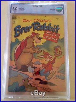 Walt Disney Brer Rabbit Four Color 1949 Golden Age #208 Cbcs 5.0 C E Cgc