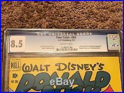 Walt Disney's Donald Duck Four Color Comic Book 308 Carl Barks VERY FINE+CGC 8.5