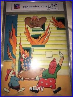 Walt Disney's Dumbo 1941 Four Color #17 Series 1 PGX 4.5+ 1st App Of Dumbo