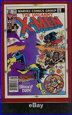 X-Men 148 Four Color Cover Separation